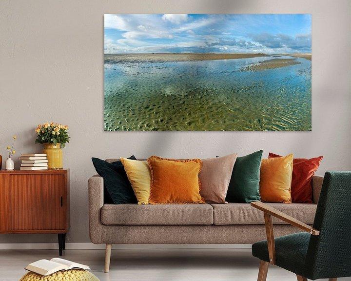 Beispiel: Austrocknen des Wattenmeeres von Jan Huneman