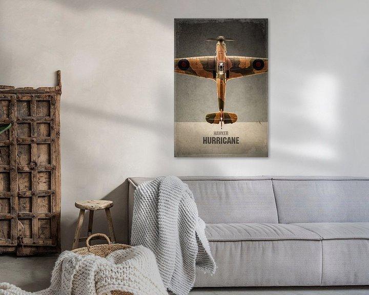 Beispiel: Hawker Hurricane - Warbird - Flugzeug von Stefan Witte