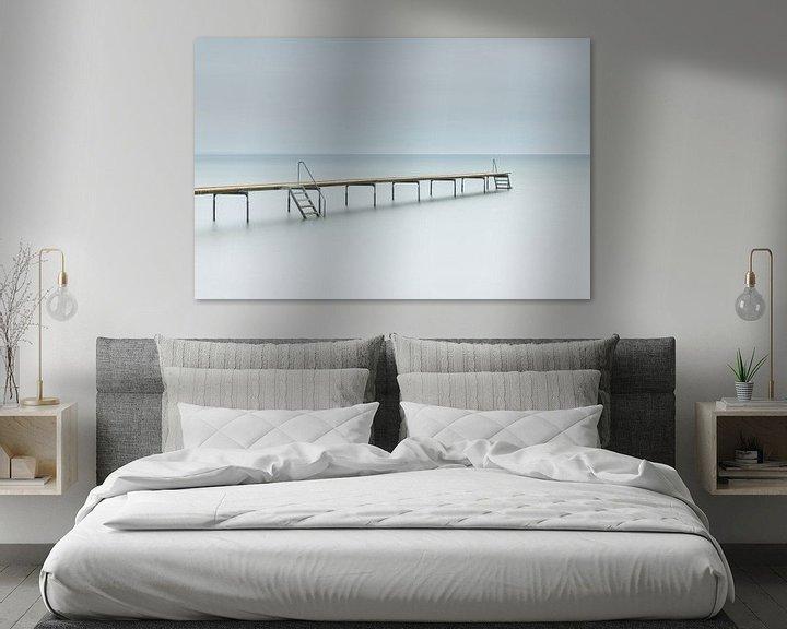 Impression: Jetée dans la mer (Middelfart - Danemark) sur Marcel Kerdijk