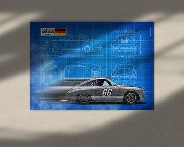 356 Blauwdruk van Theodor Decker