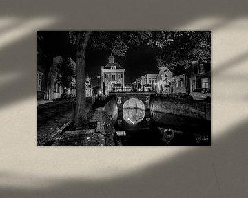 Stadtbild der Festungsstadt Nieuwpoort von Gert Jan Geerts