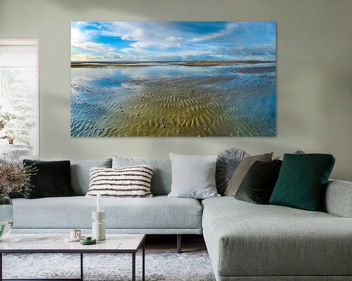 Beispiel: Eine blaue Welt im Wattenmeer von Jan Huneman