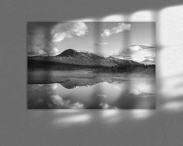 Sonnenaufgang Kiruna - Nikkaluokta (Schweden) von Marcel Kerdijk