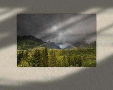 Regenbogen in Norwegen