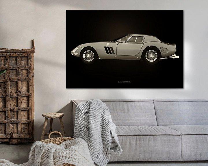 Sfeerimpressie: Ferrari 250 GTO van Jan Keteleer