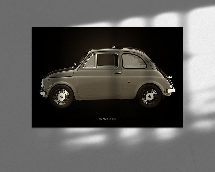 Sfeerimpressie: Fiat 500 van Jan Keteleer