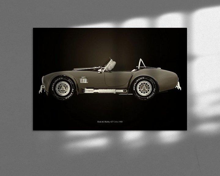 Sfeerimpressie: Ford AC Cobra van Jan Keteleer
