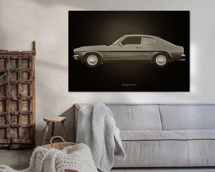 Sfeerimpressie: Ford Capri van Jan Keteleer