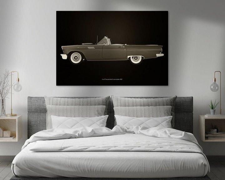 Sfeerimpressie: Ford Thunderbird Cabriolet van Jan Keteleer