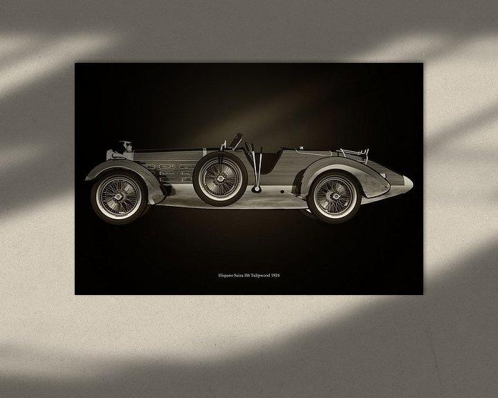 Sfeerimpressie: Hispano Suiza H6 van Jan Keteleer
