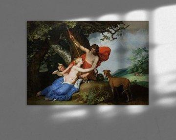 Venus und Adonis - Abraham Bloemaert, 1632 von Atelier Liesjes