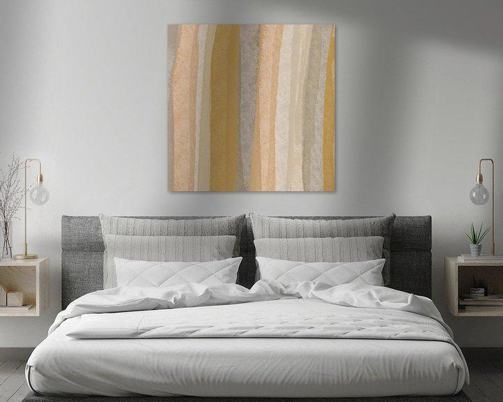 Sfeerimpressie: Modern abstract -Collis van YOPIE illustraties