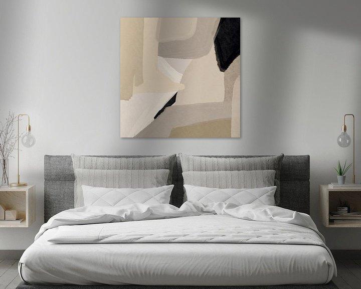 Sfeerimpressie: Modern abstract - coire van YOPIE illustraties