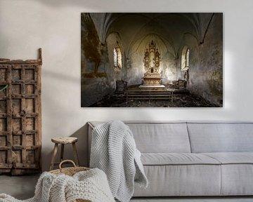 Die verlassene und baufällige Kapelle von Frans Nijland