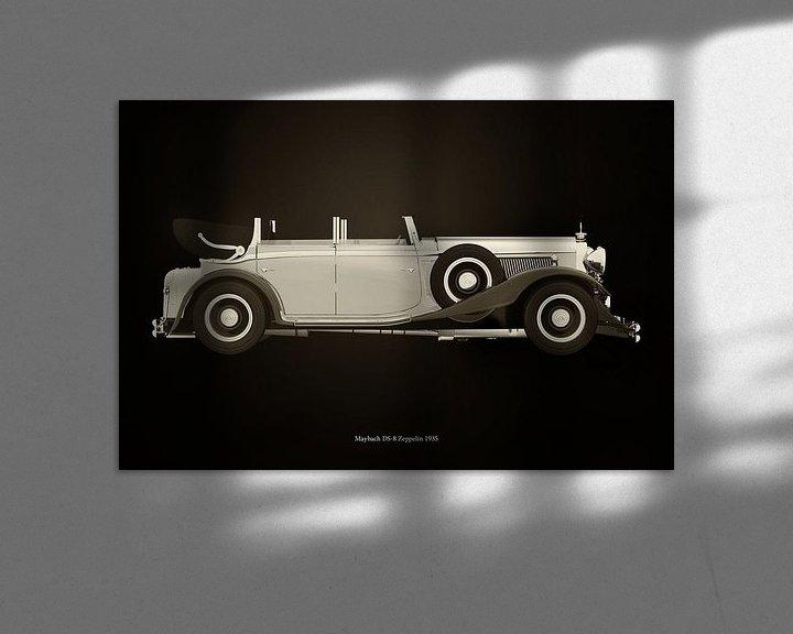 Sfeerimpressie: Maybach DS-8 van Jan Keteleer