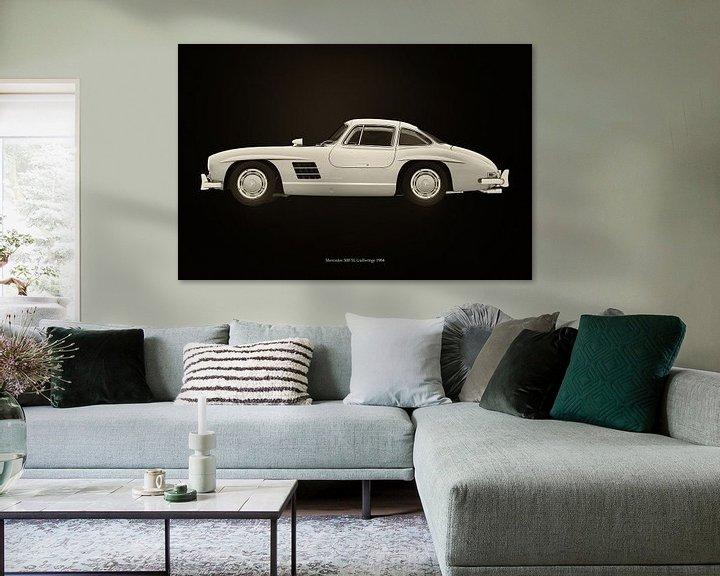 Sfeerimpressie: Mercedes 300 SL van Jan Keteleer