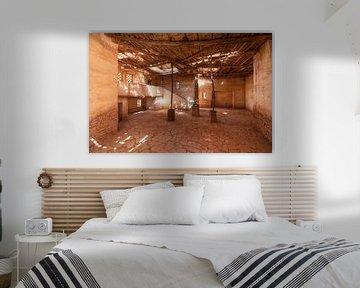 Hut in Marokko van Marcel Kerdijk