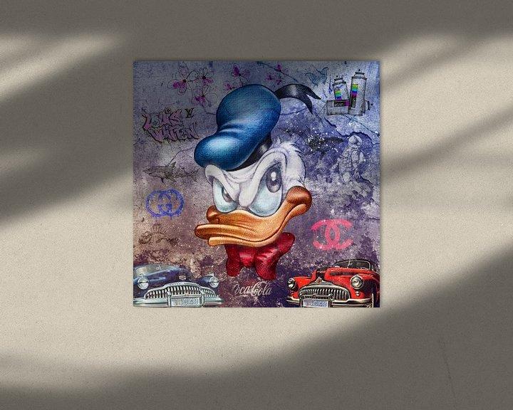 Beispiel: Donald Duck von Rene Ladenius Digital Art