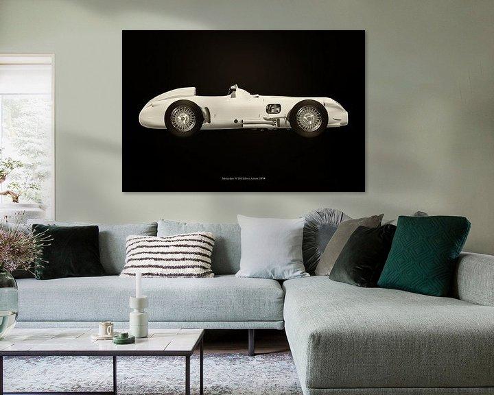 Sfeerimpressie: Mercedes W196 van Jan Keteleer
