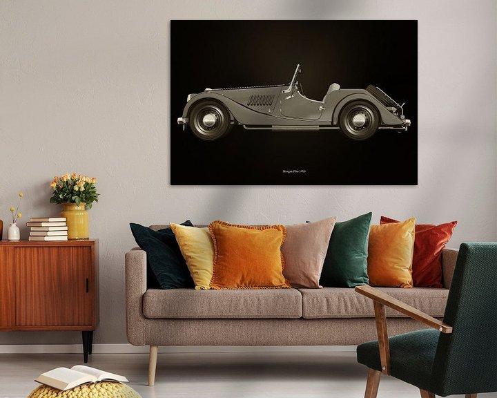 Sfeerimpressie: Morgan Plus 1950 van Jan Keteleer