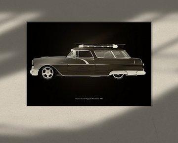 Pontiac Station Wagon Surfer Edition Zwart en Wit
