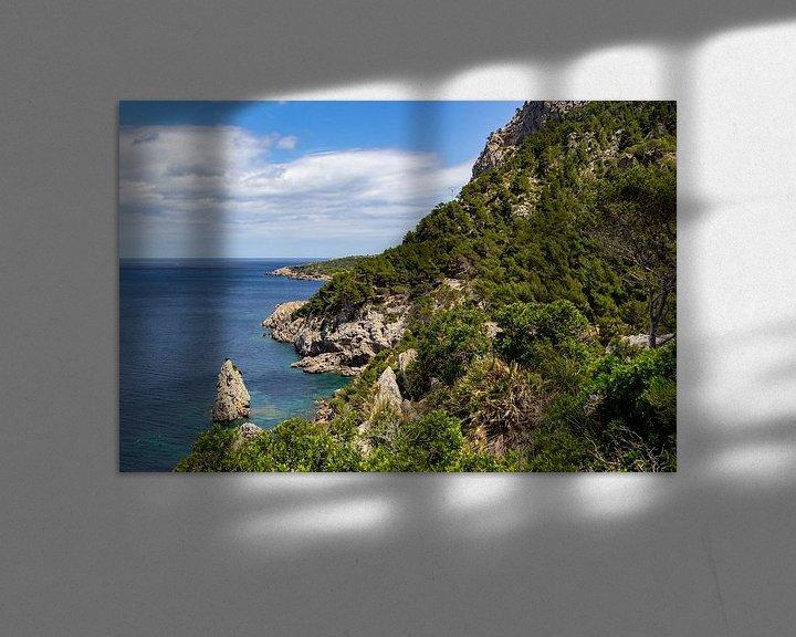 Sfeerimpressie: Ses Caletes baai in het noordoosten van Mallorca van Reiner Conrad