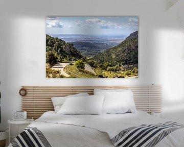 Landschaft am Coll de Soller auf Mallorca von Reiner Conrad