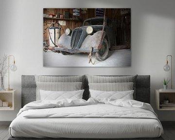 Simca Kastenwagen Oldtimer von Ton van Waard - Pro-Moois