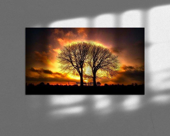 Sfeerimpressie: Witte kastanjebomen van Wim van Beelen