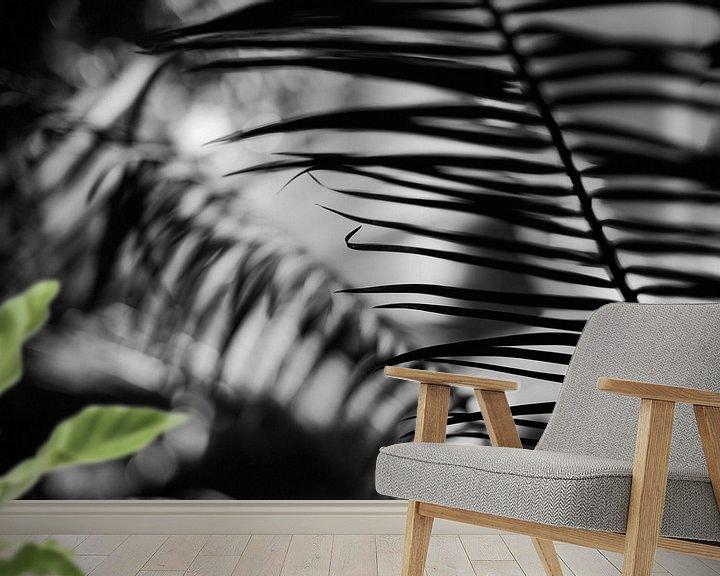 Beispiel fototapete: Pflanzen abstrahiert von Rene  den Engelsman