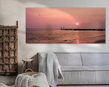 zonsondergang in  zeeland van Karin vanBijleveltFotografie