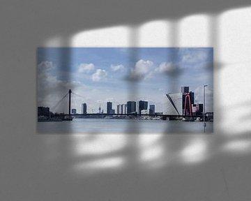 rotterdam skyline van Karin vanBijleveltFotografie