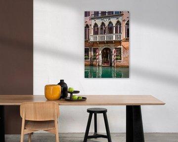 Historische gevel in Venetië