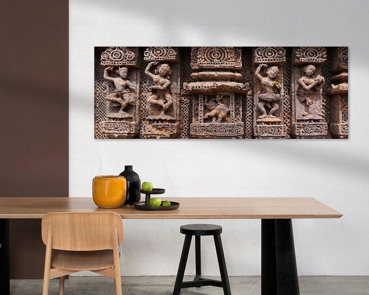 Beispiel: Vier antike Tänzer und Ganesha von Affect Fotografie