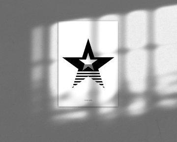Stars and stripes van The Pixel Corner