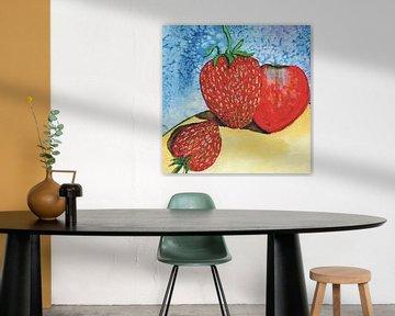 Aardbeien van Thomas Suske