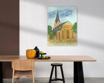 St. Marienkirche Flensburg von Sandra Steinke