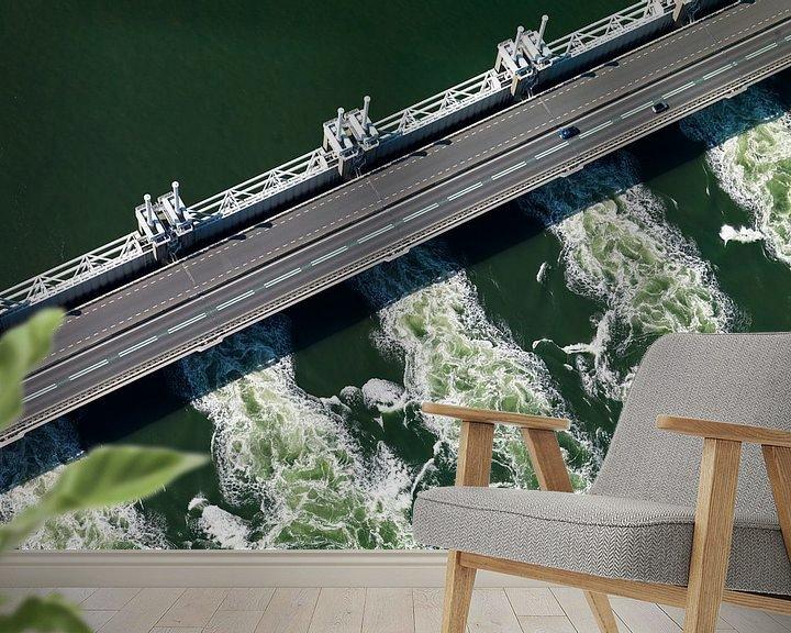 Impression: Barrage anti-tempête de l'Escaut oriental sur Sky Pictures Fotografie
