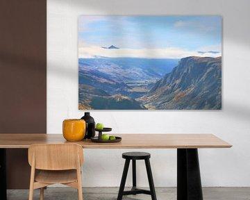 Landschap - Nieuw-Zeeland - Queenstown - Dal - Vallei - Schilderij van Schildersatelier van der Ven