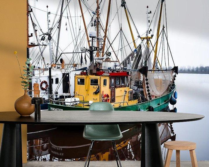 Beispiel fototapete: Boot. von Sebastiaan Peek