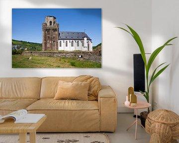 Martinuskerk, Oberwesel, Unesco-werelderfgoed Boven-Midden-Rijndal, Rijnland-Palts, Duitsland van Torsten Krüger
