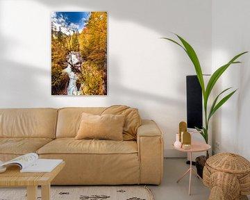 Herbst an der Wimbachklamm