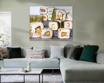 Sushi arrangement van Achim Prill