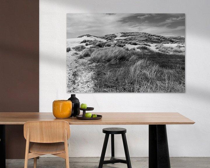 Sfeerimpressie: Duinlandschap bij de Kerf van Rob Donders Beeldende kunst