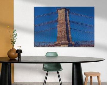 De bruggen in Dumbo New York 07 van FotoDennis.com