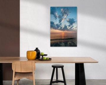 Sunset van Rob Donders Beeldende kunst