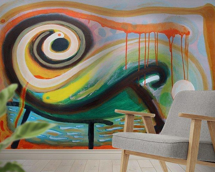 Sfeerimpressie behang: Zwartje van Marc Otte