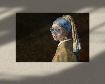 Het meisje met de blauwe zonnebril - Fela de Wit