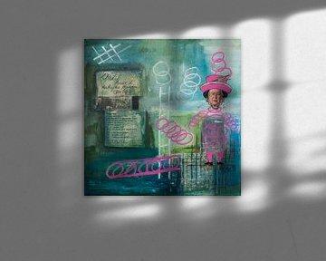 Collage Artis Queen von LovePaintPhoto