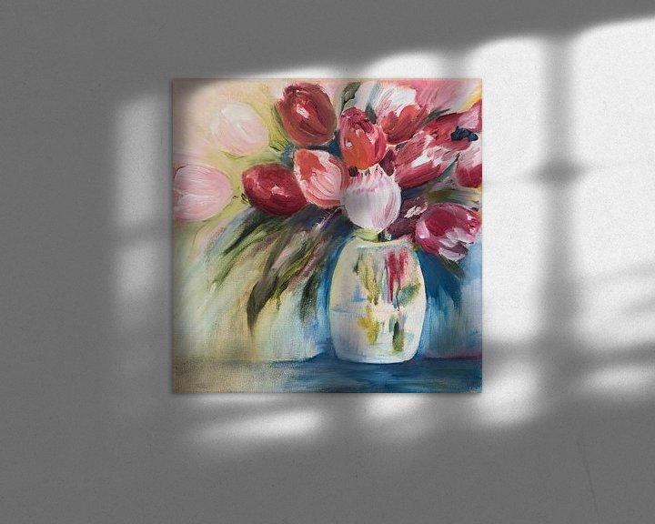 Beispiel: Bunte Tulpen von LovePaintPhoto